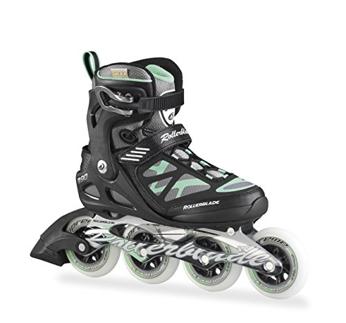 Rollerblade Inlineskate Fitness Recreational Macroblade 90 W - Patines en línea Black/Light Green