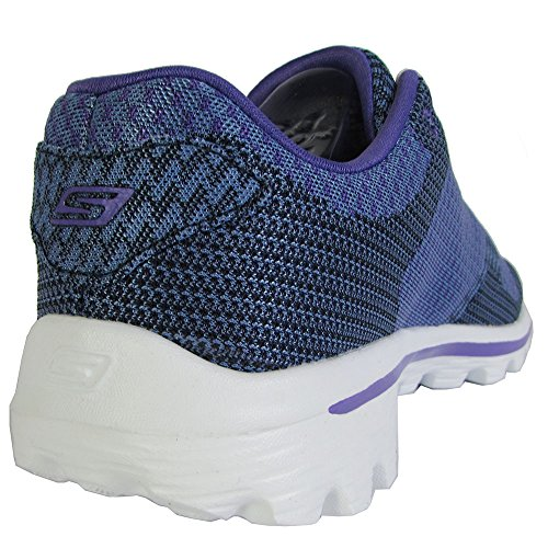 Navy purple Walk 2 Go Caminar Spark Skechers Zapato Rendimiento q80wx77E