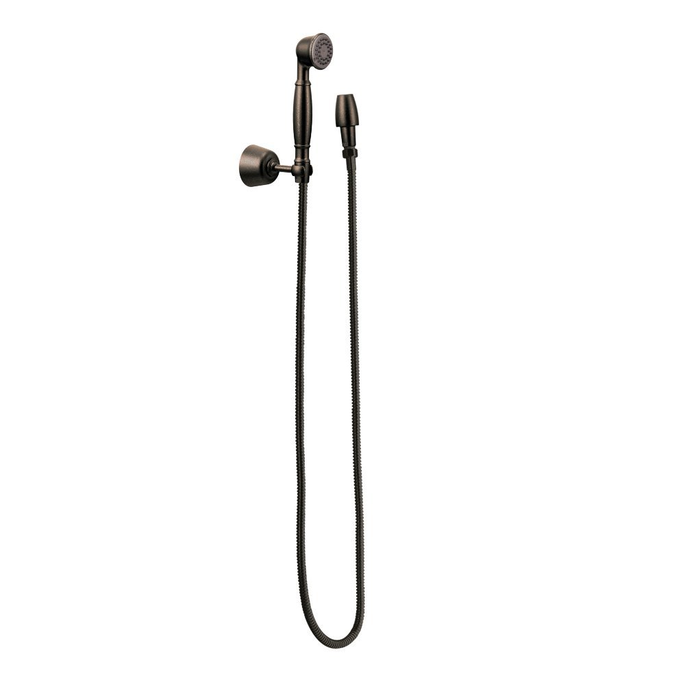 Moen 3861ORB Single Function Hand Shower with Wall Bracket and Hose, Oil Rubbed Bronze by Moen