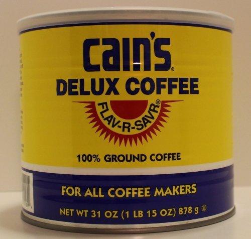 Cain's FLAV-R-SAVR Delux Coffee 31 oz.