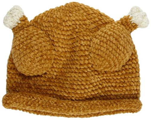 Amazon Melondipity Little Turkey Thanksgiving Baby Hat Brown