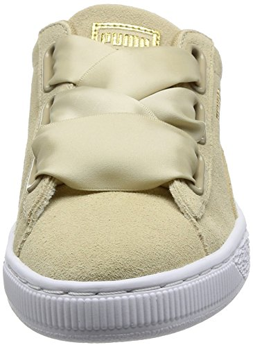 Puma Suede Heart Safari, Sneakers Basses Femme Beige (Safari-safari)
