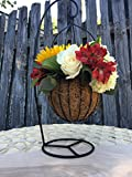 Round Hanging Basket W 18' Stand 20 Per Pack (Black)