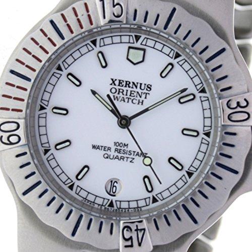Orient Watch B-678542-b Reloj Analogico Para Hombre Colección Xernus Caja De Acero Inoxidable Esfera Color Blanco: Amazon.es: Relojes