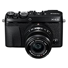 Fujifilm X-E3 Mirrorless Digital Camera with XF 23mm f/2 R WR Lens Kit - Black