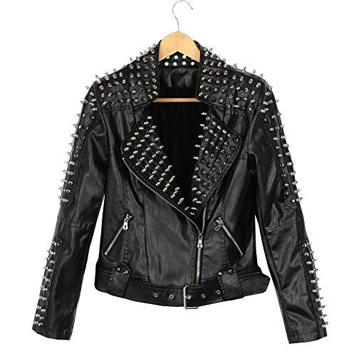 Studded Zip Jacket - 7