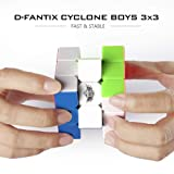 D-FantiX Cyclone Boys 3x3 Speed Cube Stickerless
