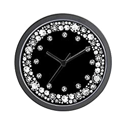 CafePress Diamond Infinity Unique Decorative 10 Wall Clock