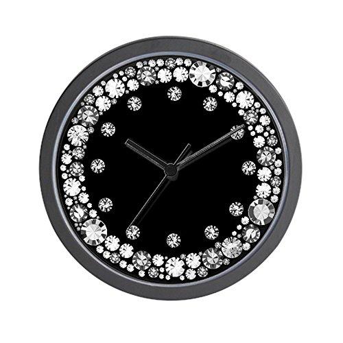 "CafePress - Diamond Infinity - Unique Decorative 10"" Wall Clock"