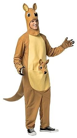 Adult Kangaroo Costume - Kangaroo Jack  sc 1 st  Amazon.com & Amazon.com: Adult Kangaroo Costume - Kangaroo Jack: Clothing