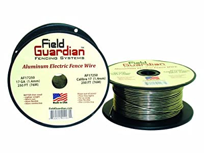 Field Guardian 16-Guage Aluminum Wire, 164-Feet