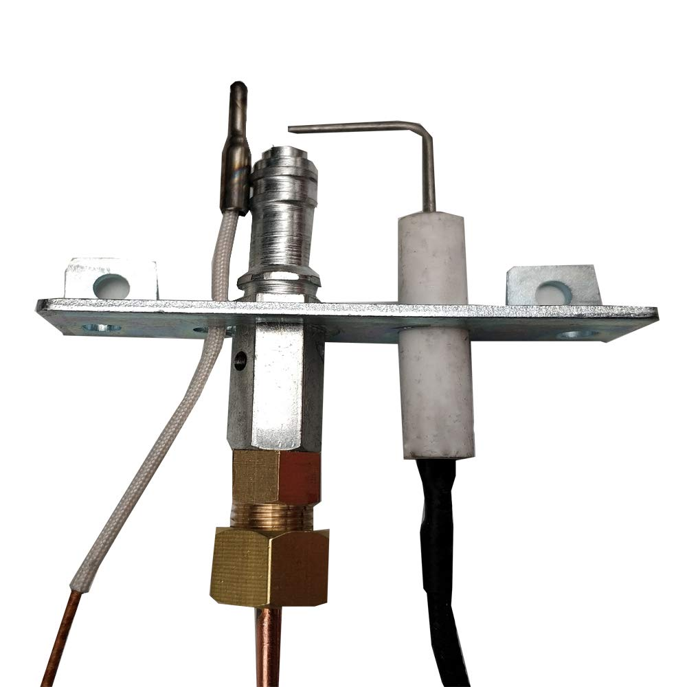 MENSI Heaters Replacement Parts Flame Pilot Burner Assembly Kit with Tubes by MENSI