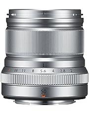 Fujifilm FUJINON XF50mm F2 R WR lens zilver