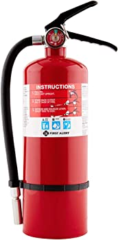 First Alert PRO5 Rechargeable Heavy-Duty Fire Extinguisher