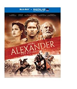 Cover Image for 'Alexander, The Ultimate Cut (10th Anniversary Edition) (Blu-ray + UltraViolet)'