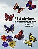 A Butterfly Garden in Freeform Peyote Stitch