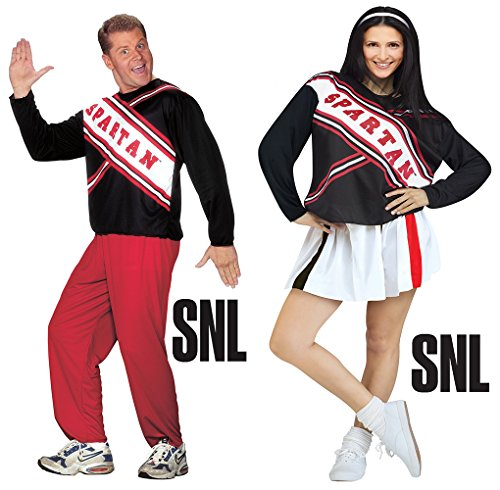 Spartan Cheerleader Costume (SNL Saturday Night Live) - Male and Female -