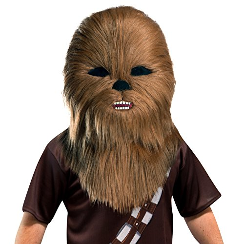 Maskimal Rubies Star Wars Chewbacca Head Mask Costume Party Halloween Adult Teenager WLM8