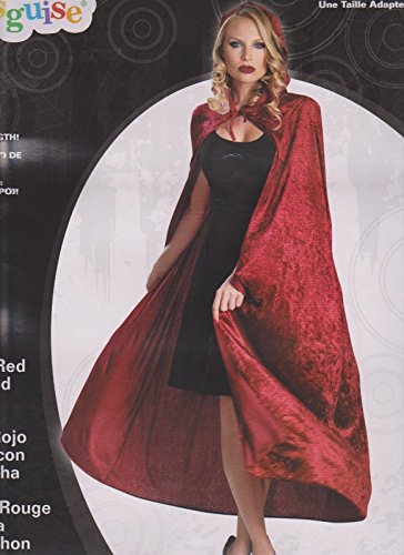 Full Length Velvet Hooded Cape/Cloak Costume - Panne Velvet Cape