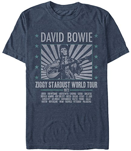 David Bowie- Ziggy World Tour '72 (Premium) T-Shirt Size L