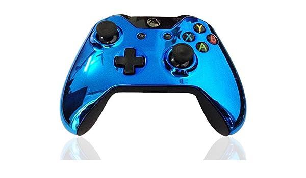 Funda frontal Kobwa de repuesto para mando de Xbox One, cromada, con juego de destornilladores: Amazon.es: Electrónica