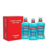 Colgate Enamel Health Mouthwash, Fresh Mint - 1L, 33.8 fluid ounce (3 pack)