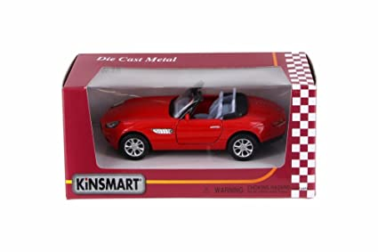 Buy Bmw Z8 Soft Top Open Top Convertible Red Kinsmart 50222wr