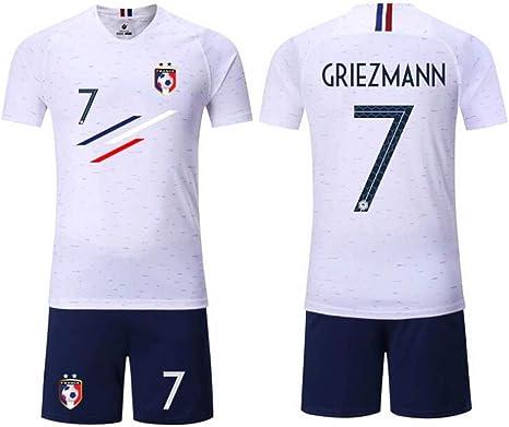 HEIPIYAYAYAYA Sudadera de fútbol Francia 2 Estrellas Home ...