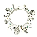US FAMILY The Lion King Disney Movie Theme Multi Charms Jewelry Bracelets Charm by Family Brands