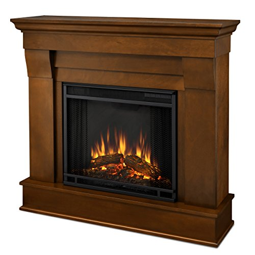 - Real Flame 5910E-E Chateau Electric Fireplace, Small, Espresso