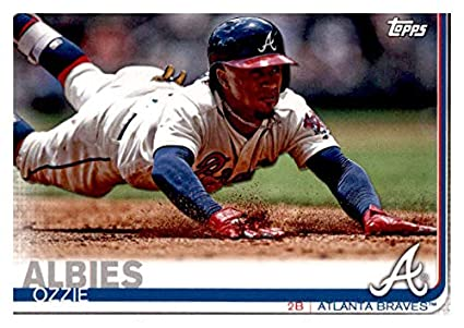 91652e1fe4c Amazon.com: 2019 Topps Team Edition Atlanta Braves #AB-3 Ozzie ...