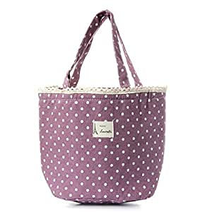 Lovely Waterproof Cooler Insulated Lunch Picnic Bag Handbag