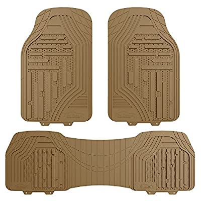 FH Group FH-F11322 Supreme Rubber Trimmable Heavy Duty Floor Mats