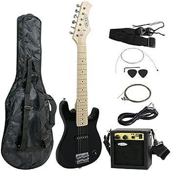 "ZENY 30"" Kids Starter Beginner Electric Guitar Kit W/ 5W Amp & Combo Accessory Kit (Shoulder Straps, Carrying case, Strings,Picks) for Holiday Birthday Gift"
