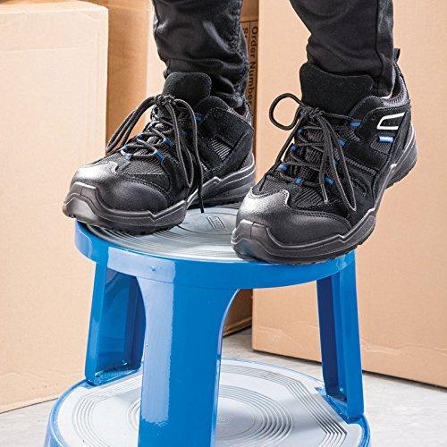 Draper 85946S1P SRC Trainer Style Chaussures de sécurité, Noir, taille 9