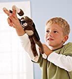 Eden Fghk Slingshot Flying Screaming Monkey Amazing Flingshot Grand Monkey Theft Plush Surprise Hand Toy