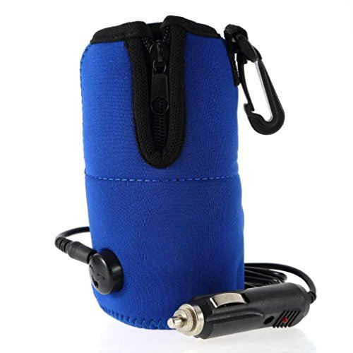 12V Bottle Cup Warmer Heater Car Auto Travel, With automatic overheating protection function, safe to use