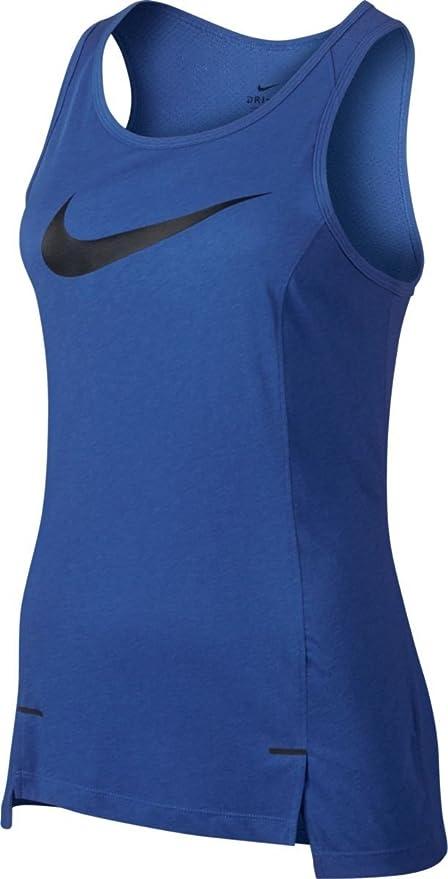 Nike W Nk Brthe SL Elite Camiseta sin Mangas de Baloncesto, Mujer ...