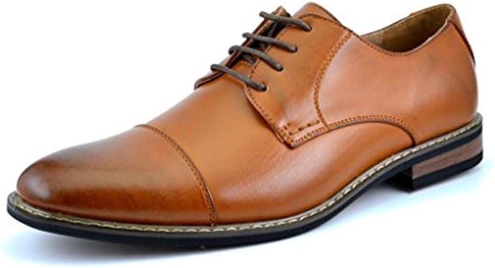 DREAM PAIRS Bruno Marc Prince Zapatos de Cordones Vestir Oxford Clásico para Hombre