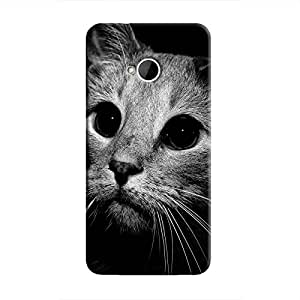 Cover It Up - Cute Cat BW One M7 Hard case
