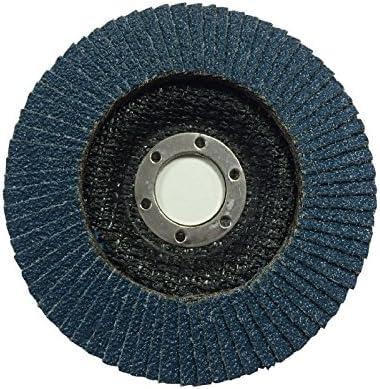 25 x 115mm Flap Disc 40 Grit Angle Grinder Sanding High Quality Zirconium Oxide