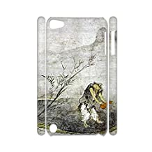 Generic Kid Pc Dropproof Printing Asian Chinese Painting 3 Phone Cases For Ipod Touch 5 Apple