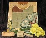 Fir Balsam Wood Incense - 100 Bricks Plus Burner - Incienso De Santa Fe