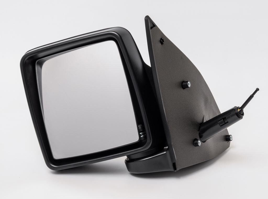 Door Wing Mirror Manual Black Left Passenger N/S View Max