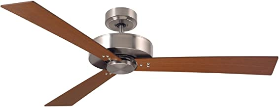 Emerson Lighting CF320CBS Keane Brushed Steel Ceiling Fan