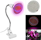 GPCT Indoor Plant Grow Light W/Red & Blue Spectrum. 360 Flexible Goose Neck, Adjustable Lighting Angle- Hydroponic Gardening, Greenhouse, Office, Vegetables, Flowers, Succulents, Seedlings Starting