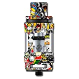 Skin Decal Vinyl Wrap for Smok TFV12 Cloud Beast King Tank Vape Mod...