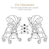 A Moon's Love Stroller Connectors Adapters Snaps 2 in 1 Connectors