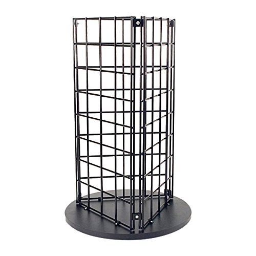 KC Store Fixtures Countertop Spinner Display, 3-Sided Grid 3