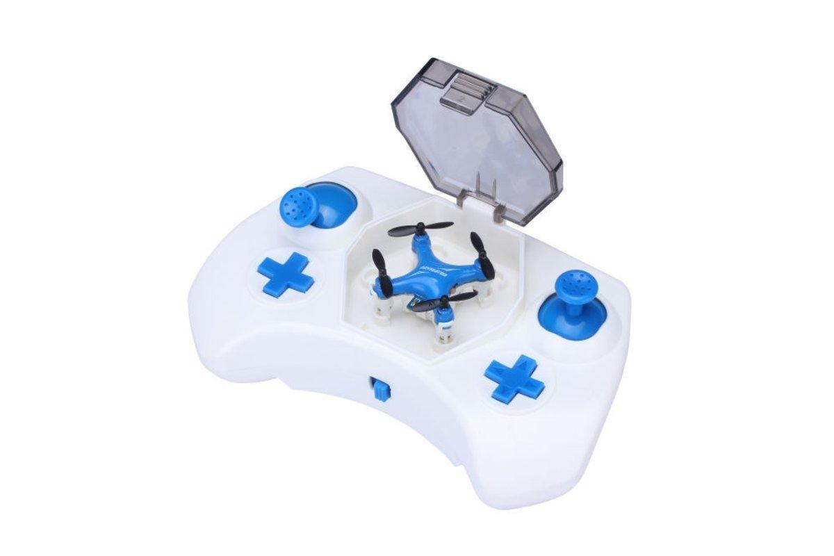 NK Nano Drone Color Azul/Blanco, 4 Canales, 4 Ejes, C: Amazon.es ...
